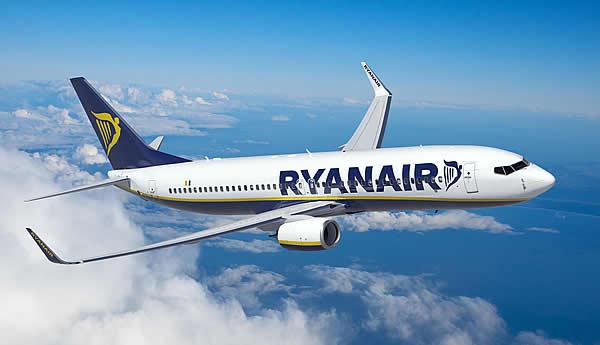 Avión (Foto Ryanair)