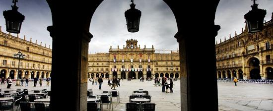 La Plaza Mayor de Salamanca (Foto: Spain.info)