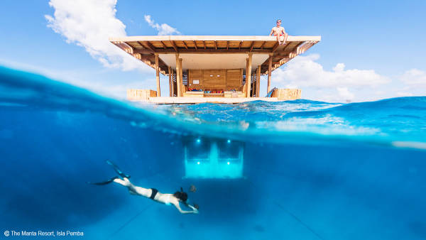 The Manta Resort, Isla Pemba