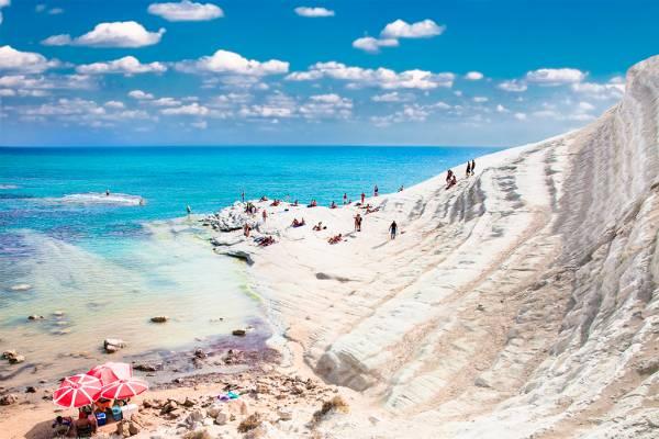 Playa de la Scala dei Turchi, Italia