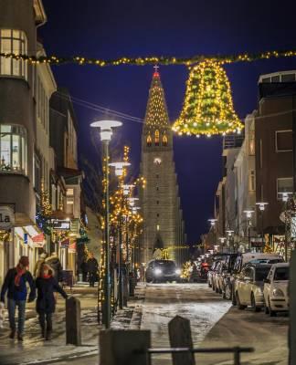 Reykjavík en Navidad